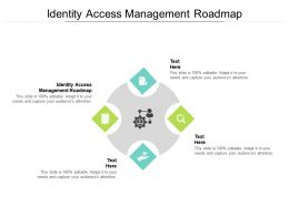 Identity Access Management Roadmap Ppt Powerpoint Presentation Slides Layout Cpb