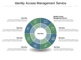 Identity Access Management Service Ppt Powerpoint Presentation Pictures Slides Cpb
