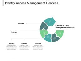 Identity Access Management Services Ppt Powerpoint Presentation Professional Cpb