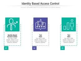 Identity Based Access Control Ppt Powerpoint Presentation File Influencers Cpb