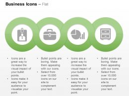 Identity Card Suitcase Business Statistics Almirah Ppt Icons Graphics