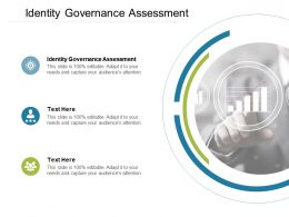 Identity Governance Assessment Ppt Powerpoint Presentation Gallery Structure Cpb