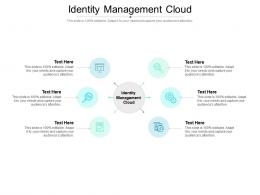 Identity Management Cloud Ppt Powerpoint Presentation Gallery Topics Cpb