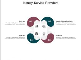 Identity Service Providers Ppt Powerpoint Presentation Summary File Formats Cpb
