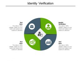 Identity Verification Ppt Powerpoint Presentation Outline Infographic Template Cpb