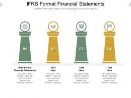 IFRS Format Financial Statements Ppt Powerpoint Presentation Infographic Cpb