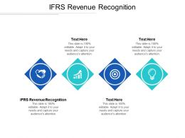 IFRS Revenue Recognition Ppt Powerpoint Presentation Infographics Display Cpb