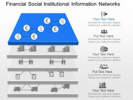 ik Financial Social Institutional Information Network Powerpoint Template