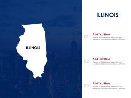 Illinois Powerpoint Presentation PPT Template