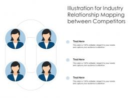 Illustration For Industry Relationship Mapping Between Competitors