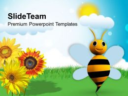 Illustration Of Bright Sunny Day PowerPoint Templates PPT Themes And Graphics 0513