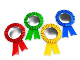 illustration_of_four_medals_stock_photo_Slide01