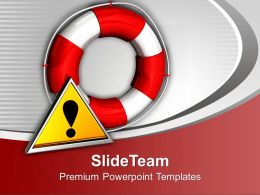 Illustration Of Rescue Icons Powerpoint Templates Ppt Themes And Graphics 0113