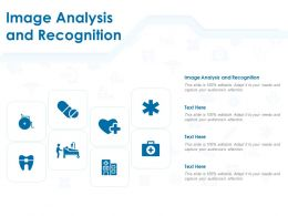 Image Analysis And Recognition Ppt Powerpoint Presentation Infographics Shapes