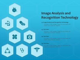 Image Analysis And Recognition Technology Ppt Powerpoint Presentation Professional Template