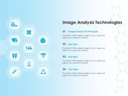 Image Analysis Technologies Ppt Powerpoint Presentation Slides Graphics Download