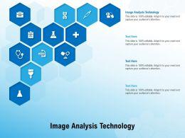 Image Analysis Technology Ppt Powerpoint Presentation Styles Ideas