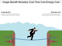 Image Benefit Monetary Cost Time Cost Energy Cost