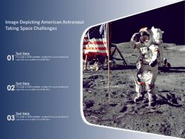 Image Depicting American Astronaut Taking Space Challenges