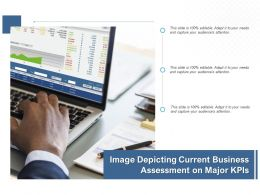 Image Depicting Current Business Assessment On Major KPIs