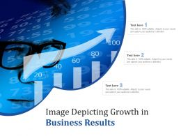 Image Depicting Growth In Business Results