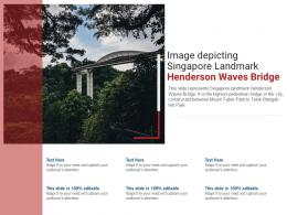 Image Depicting Singapore Landmark Henderson Waves Bridge Powerpoint Presentation Ppt Template