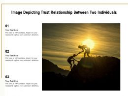 Image Depicting Trust Relationship Between Two Individuals