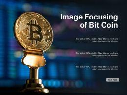 Image Focusing Of Bit Coin