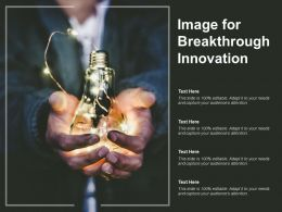 Image For Breakthrough Innovation