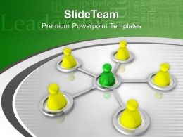 Image Of 3d People Networking Concept PowerPoint Templates PPT Themes And Graphics 0213