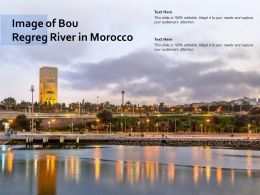 Image Of Bou Regreg River In Morocco