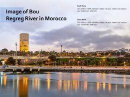 Image Of Bou Regreg River In Morocco