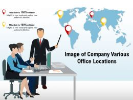 Image Of Company Various Office Locations