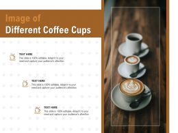 Image Of Different Coffee Cups