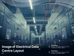 Image Of Electrical Data Centre Layout