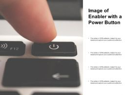 Image Of Enabler With A Power Button