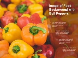Image Of Food Background With Bell Peppers