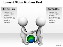 Image of Global Business Deal Ppt Graphics Icons Powerpoint
