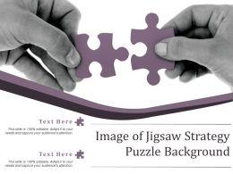 Image Of Jigsaw Strategy Puzzle Background