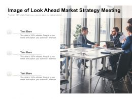 Image Of Look Ahead Market Strategy Meeting