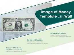 Image Of Money Template With Wall