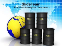 Image Of Oil Trading Concept Powerpoint Templates Ppt Themes And Graphics 0213