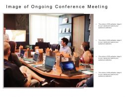 Image Of Ongoing Conference Meeting