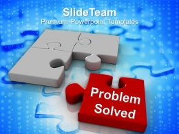 Image Of Puzzle Pieces Problem Solved Powerpoint Templates Ppt Themes And Graphics