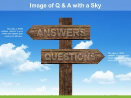 Image Of Q And A With A Sky