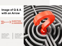Image Of Q And A With An Arrow