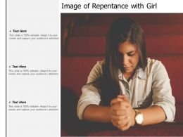 Image Of Repentance With Girl