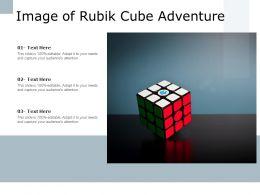 Image Of Rubik Cube Adventure