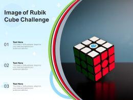 Image Of Rubik Cube Challenge