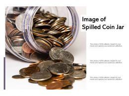 Image Of Spilled Coin Jar